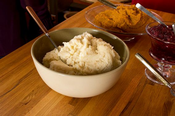 Heavy cream, sticks of butter, even tubs of cream cheese (we've heard rumors!) get whipped into those cholesterol-drowned sta