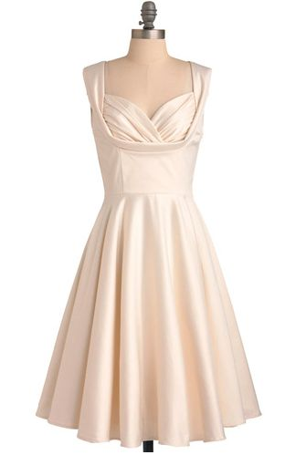 """We're visualizing this dress in a quirky yet elegant backyard wedding. It's a steal at $163, available on <a href=""""http://www"""