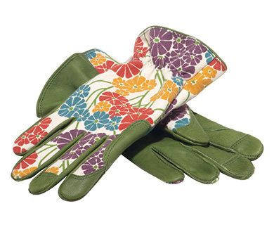 """Help your favorite gardener get down and dirty in style with this sunny floral print. At <a href=""""http://www.nybgshop.org/pro"""