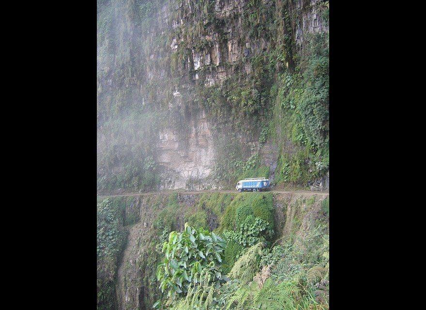 Known for being the most dangerous road in Bolivia, North Yungas Road is actually considered by many who've traveled it to be