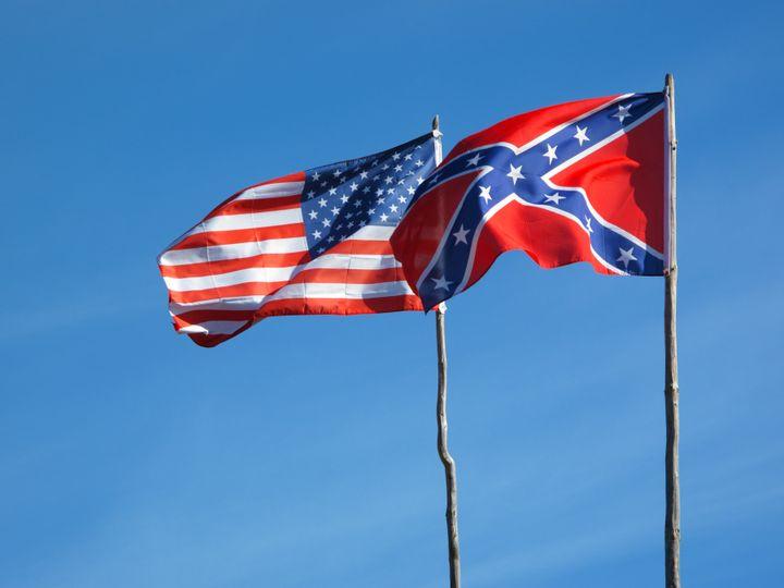 flags of american civil war....
