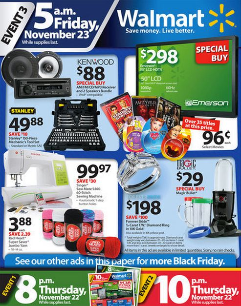 Black Friday Ads 2012 Deals From Walmart Best Buy Target Huffpost Life