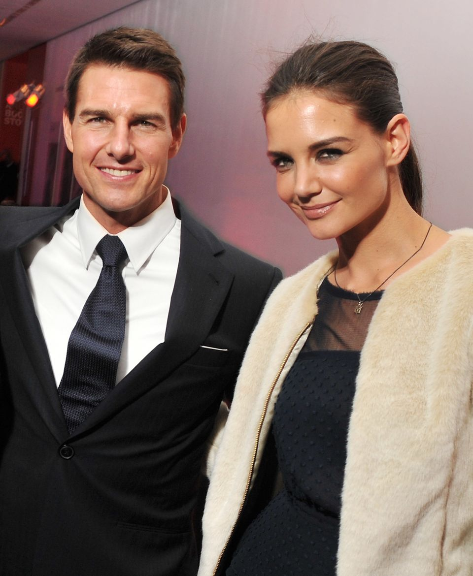 """High-profile Hollywood couple Tom Cruise and Katie Holmes <a href=""""http://www.tmz.com/2012/06/29/tom-cruise-katie-holmes-divo"""