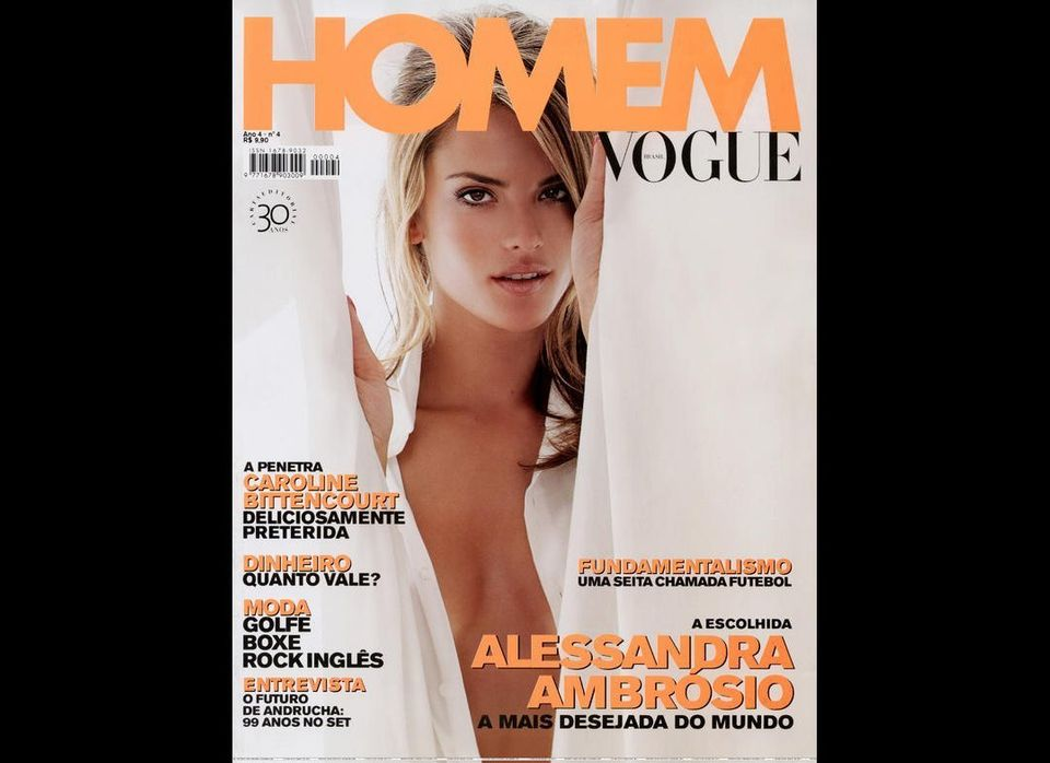 3ebd40c8f043 Alessandra Ambrosio Sports Tighty-Whitey Men's Underwear In New ...