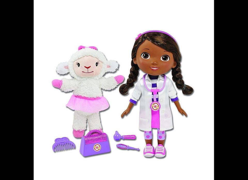 Doc McStuffins Time for Your Check Up doll by Just Play, $39.99: Doctor doll based on Disney Jr. show character.