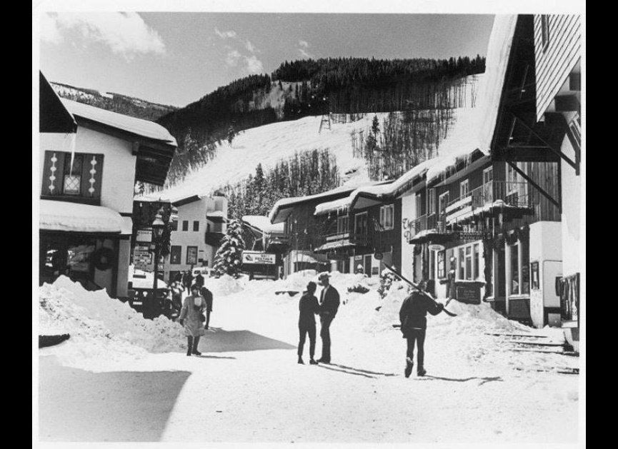 Vail Village was modeled on Switzerland's Zermatt, with a cobblestone pedestrian main street and buildings inspired by Tyrole
