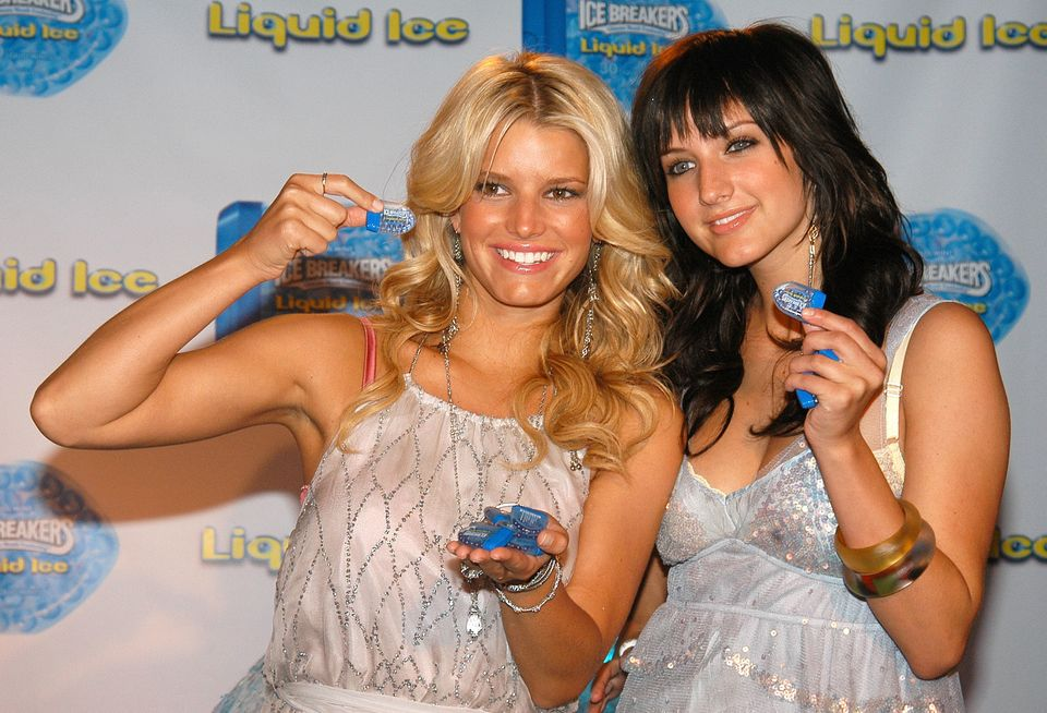 """Jessica Simpson's <a href=""""http://www.people.com/people/article/0,,1053559,00.html"""">three-year marriage</a> to Nick Lachey wa"""