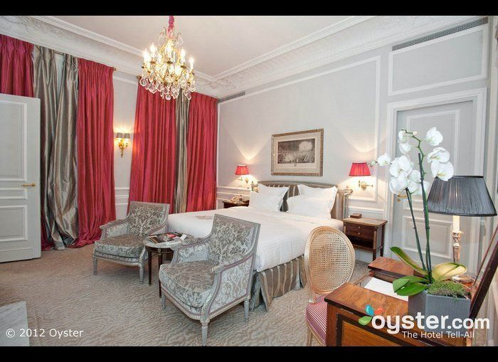 The world-renowned luxury hotel Plaza Athenee -- a part of the Dorchester Collection -- is synonymous with Parisian elegance