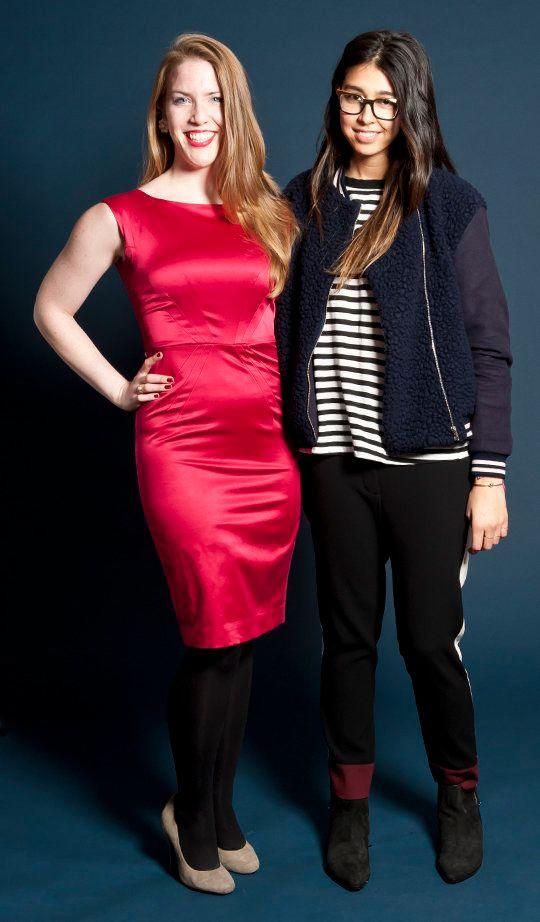 Jessica Rotondi and Michelle Persad