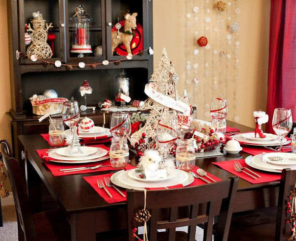 """This <a href=""""http://blog.hwtm.com/2011/11/new-vintage-glam-holiday-theme-free-party-printables/"""">printable set</a> will tran"""