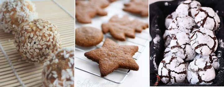 Healthy Christmas Cookies Treats For The Gluten Free Diabetics And