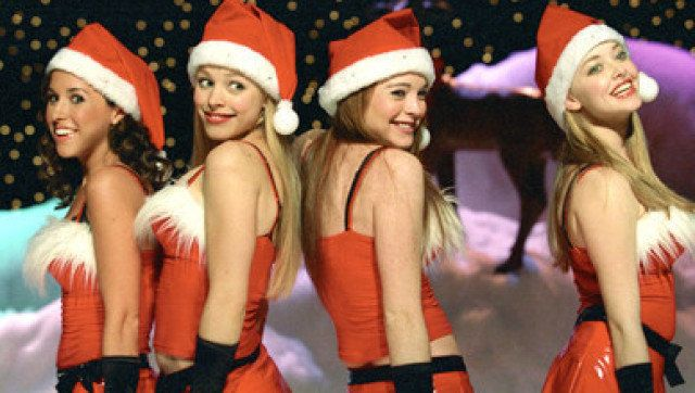 Mean Girls Jingle Bell Rock Outfits Are Still Our Favorite