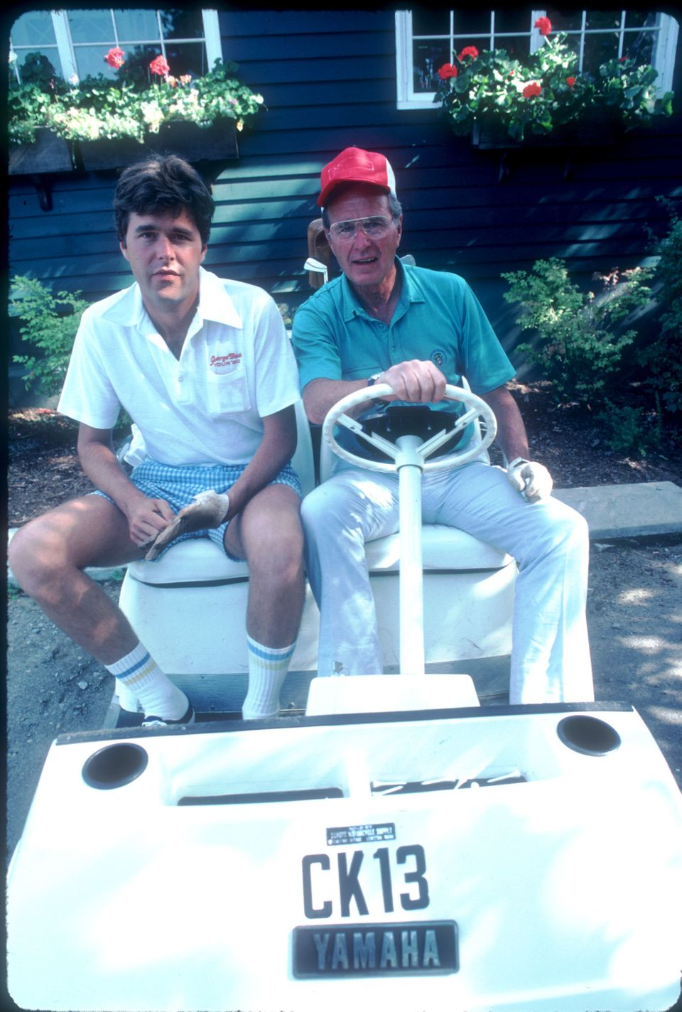 Ok so he was Vice President at the time, but the '80s really weren't kind to anyone, including Bush and his son, Jeb (seen he