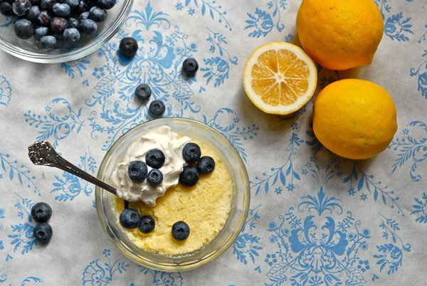 """<strong>Get the <a href=""""http://steamykitchen.com/14582-meyer-lemon-clouds-with-lemon-whipped-cream-and-fresh-blueberries.htm"""