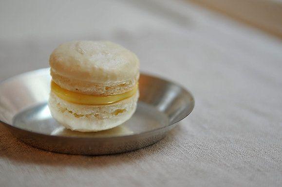 "<strong>Get the <a href=""http://food52.com/recipes/3809-meyer-lemon-macarons"" target=""_blank"">Meyer Lemon Macarons recipe fro"
