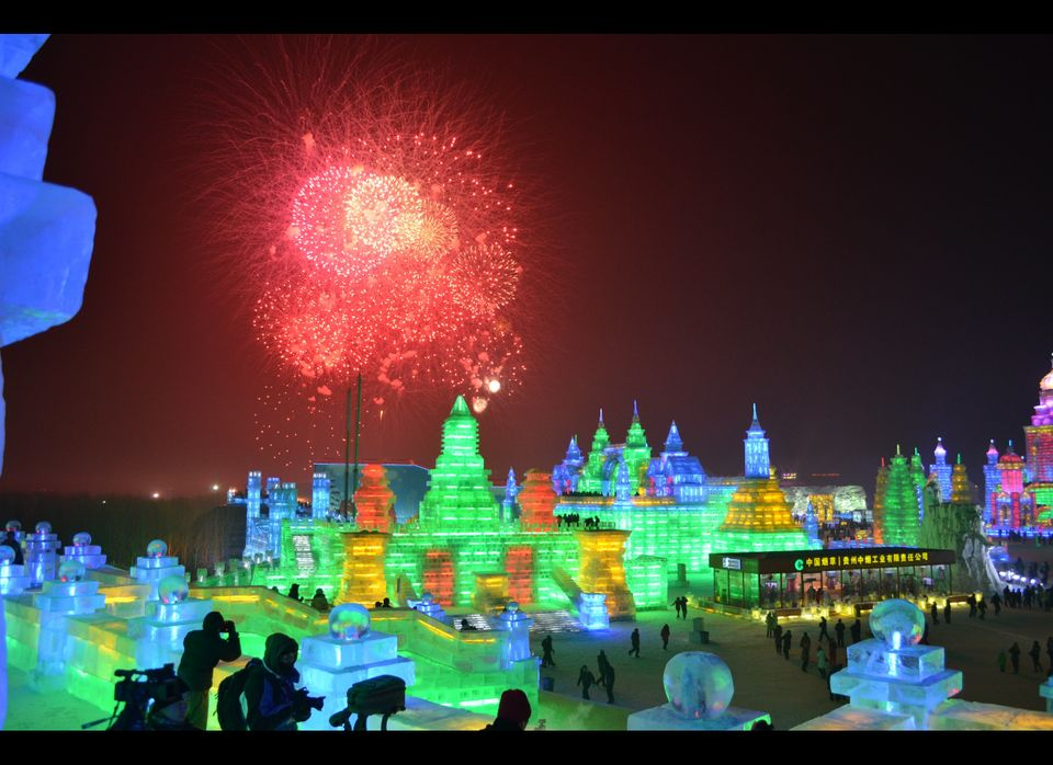 The Harbin International Ice and Snow Sculpture Festival officially kicks off every year on January 5 at the fest's main even