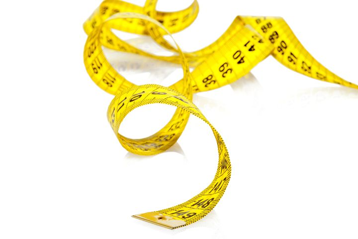 measuring tape of the tailor...
