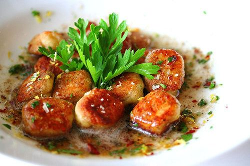 """<strong>Get the <a href=""""http://steamykitchen.com/16-pan-fried-lemon-ricotta-gnocchi.html"""">Pan-Fried Lemon Ricotta Gnocchi re"""