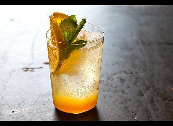"""<em><strong><a href=""""http://food52.com/recipes/12209_orange_ginger_mint_sodas"""" target=""""_hplink"""">Get the recipe on FOOD52</a><"""