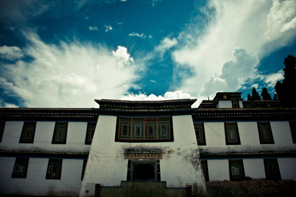 Tibet's whitewashed monasteries are as welcoming as they are austere.