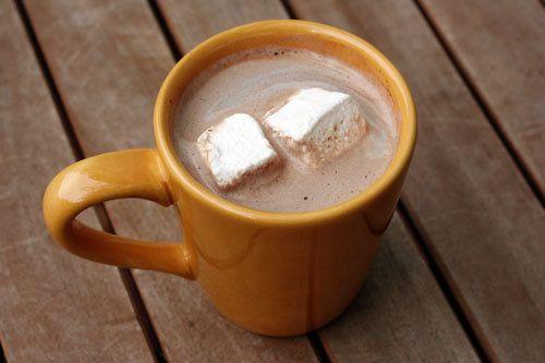 "<strong>Get the <a href=""http://thisweekfordinner.com/2009/12/15/homemade-vanilla-hot-chocolate/"">Vanilla Hot Chocolate recip"