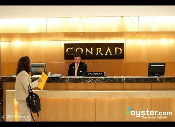 <strong>Standout feature:</strong> Pre-select designer bath amenities  The Hilton luxury brand Conrad is known for making i