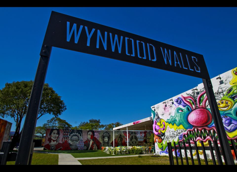 Miami's Wynwood Walls, the inspiration of the late developer Tony Goldman, have revived a once-downtrodden neighborhood. [Pat