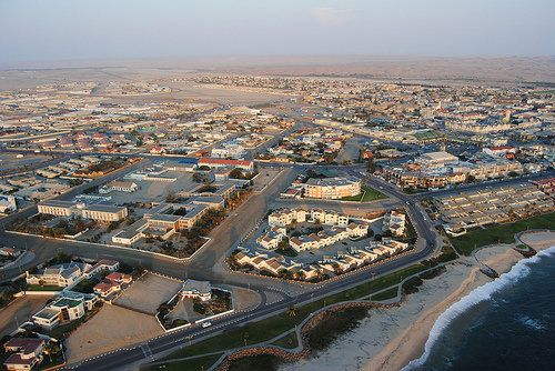 "The teutonic colonial port city of Namibia sits on the Skeleton Coast and under a sky that drops <a href=""http://books.google"