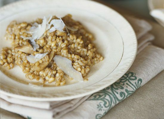 "<strong>Get the <a href=""https://www.huffpost.com/entry/barley-risotto_n_1057490"">Barley Risotto recipe </a></strong>"