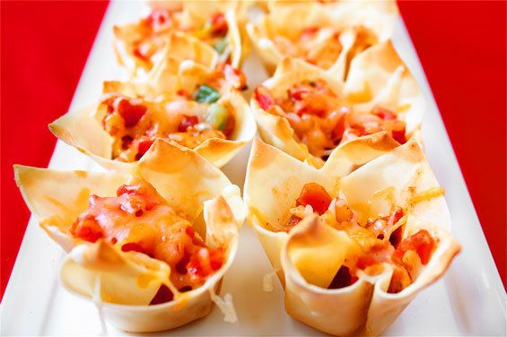"<strong>Get the <a href=""http://www.gimmesomeoven.com/chipotle-chicken-cups/"">Chipotle Chicken Cups recipe from Gimme Some Ov"