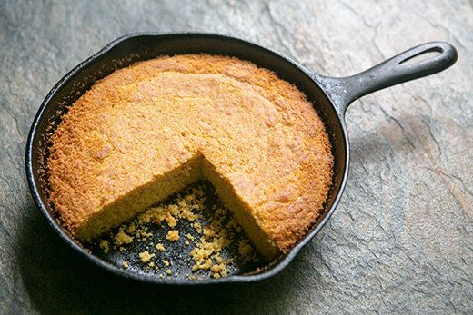 "<strong>Get the <a href=""http://www.simplyrecipes.com/recipes/southern_cornbread/"">Southern Cornbread recipe</a> by Simply Re"