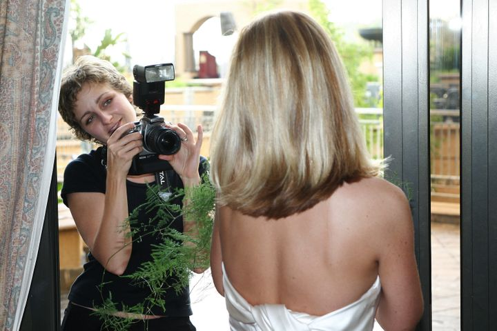blond photographer