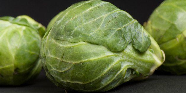 Brussels sprouts (Brassica oleracea var. gemmifera)