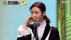 배우 송선미가 '남편 청부살해' 법정에서 들려온 말에 울분을
