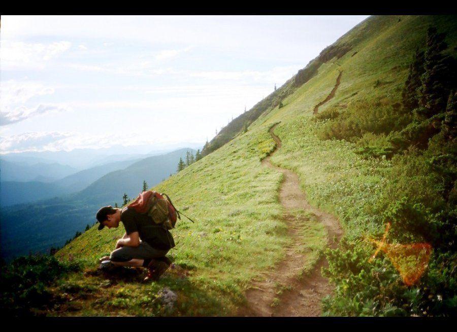 "Photographer <a href=""http://globalyodel.com/yodel/dog-mountian/"" target=""_hplink"">Amanda Leigh Smith</a> treks 45-minutes fr"
