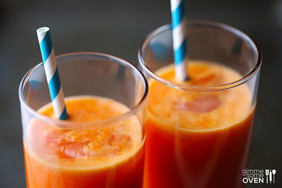 "<strong>Get the <a href=""http://www.gimmesomeoven.com/orange-carrot-ginger-juice/"" target=""_blank"">Orange Carrot Ginger Juice"