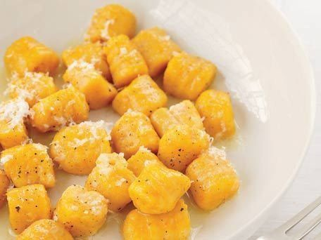 "<strong>Get the <a href=""http://www.huffingtonpost.com/2011/10/27/carrot-potato-gnocchi_n_1058275.html"">Carrot-Potato Gnocchi"