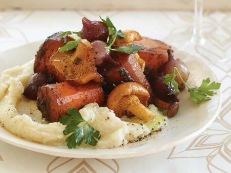 "<strong>Get the <a href=""http://www.huffingtonpost.com/2011/10/27/carrot-osso-buco_n_1061057.html"">Carrot Osso Buco</a> recip"