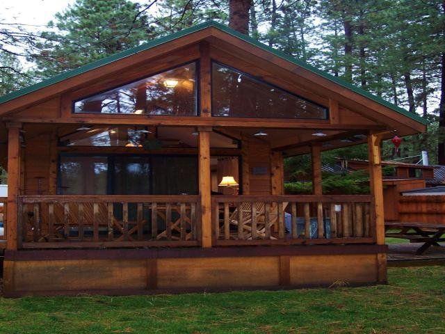 We love the cabin-like look.