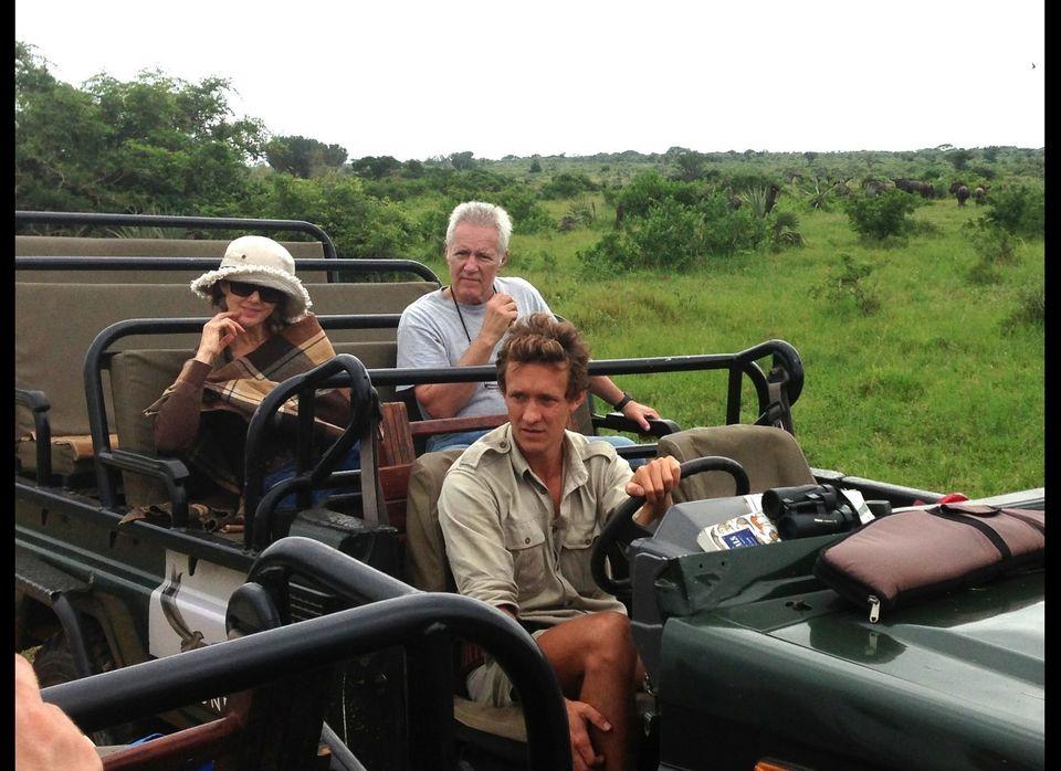 Alex Trebex on Safari