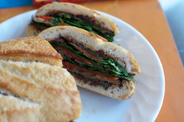 "<strong>Get the <a href=""http://food52.com/recipes/6938-all-vegetable-muffaletta"" target=""_blank"">All Vegetable Muffaletta</a"
