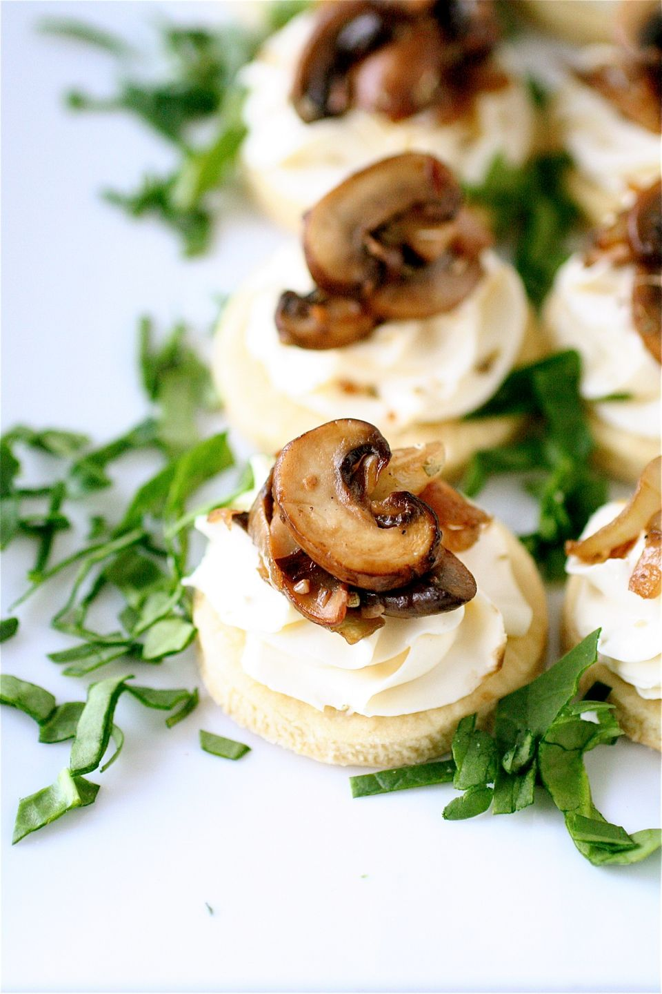 """<strong>Get the <a href=""""http://www.thecurvycarrot.com/2012/02/17/mushroom-and-mascarpone-tarts-and-a-virtual-baby-shower/"""">M"""