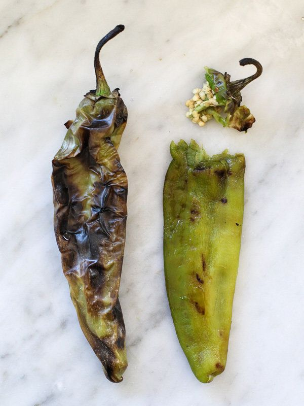"""<strong>Get instructions on <a href=""""http://www.foodiecrush.com/2014/09/how-to-roast-chile-peppers/"""" target=""""_blank"""">how to r"""