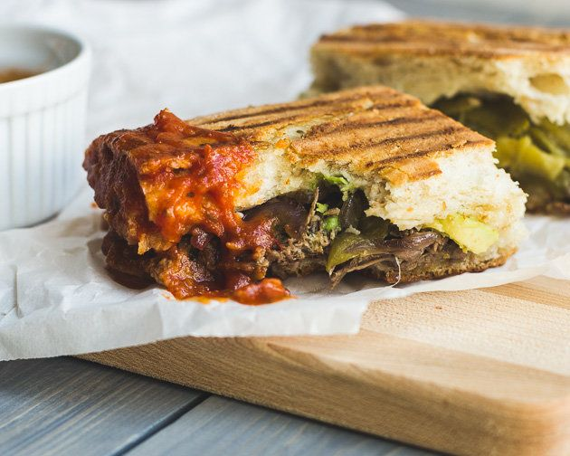 """<strong>Get the <a href=""""http://www.mjandhungryman.com/southwestern-steak-and-cheddar-panini/"""" target=""""_blank"""">Southwestern S"""
