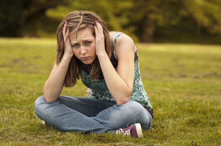 Upset Teen Girl