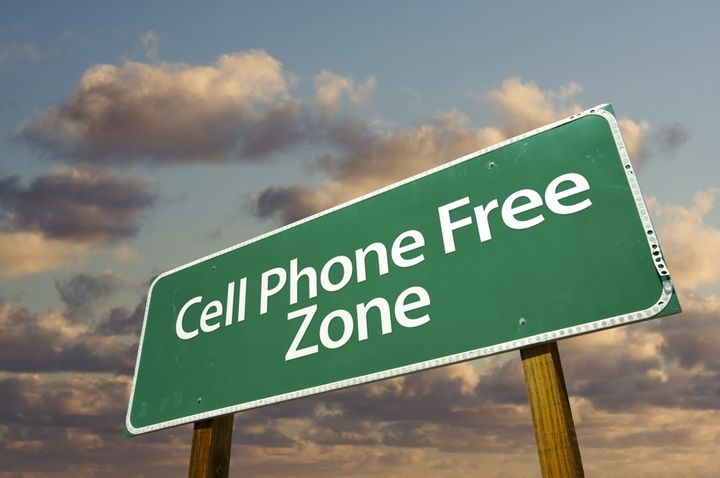 cell phone free zone green road ...
