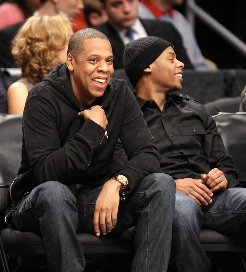 Jay-Z (real name: Shawn Carter) bucked tradition and hyphenated his last name with wife, Beyonce's -- he is now legally Shawn