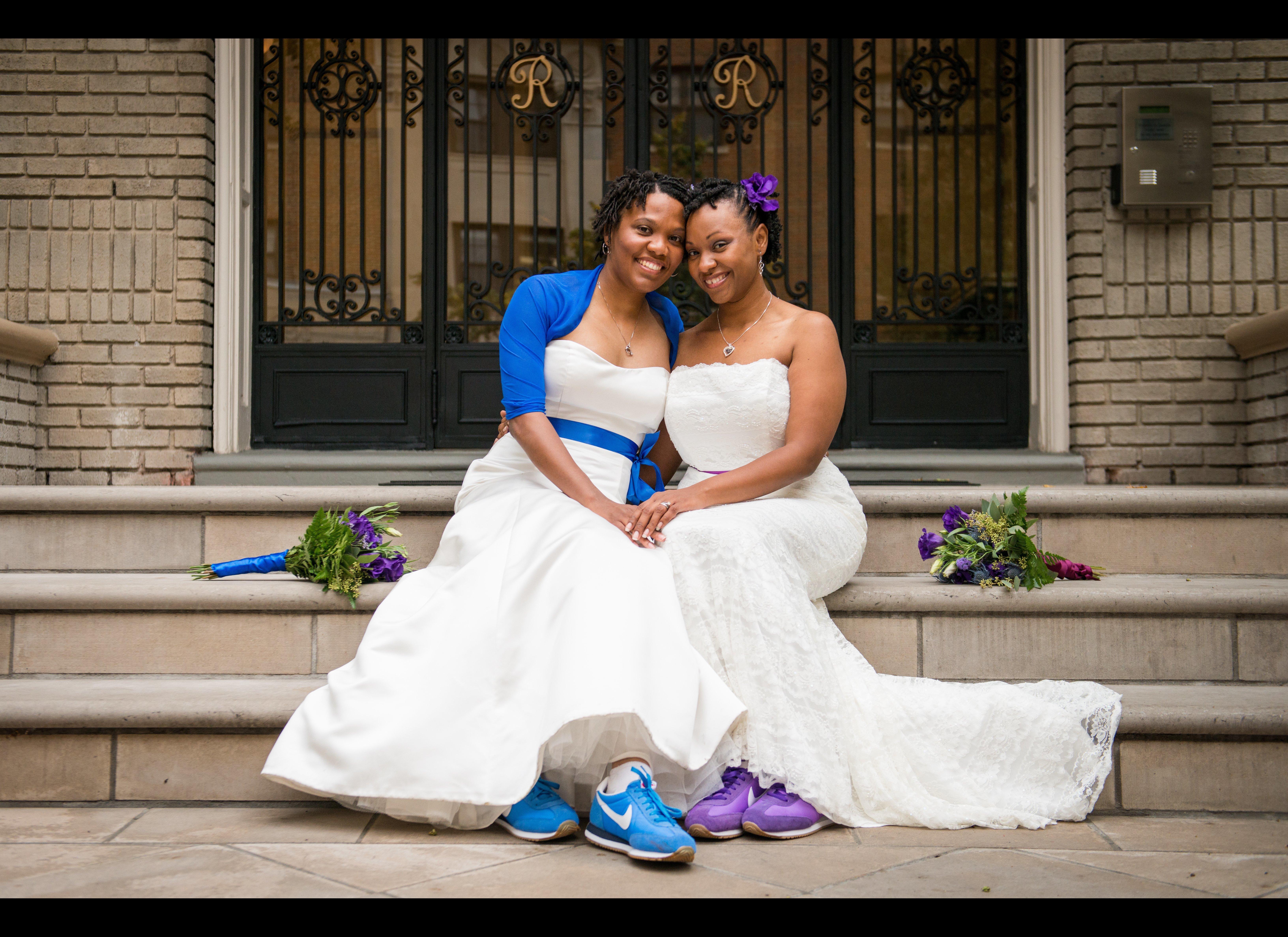 Gay and lesbian wedding photographers