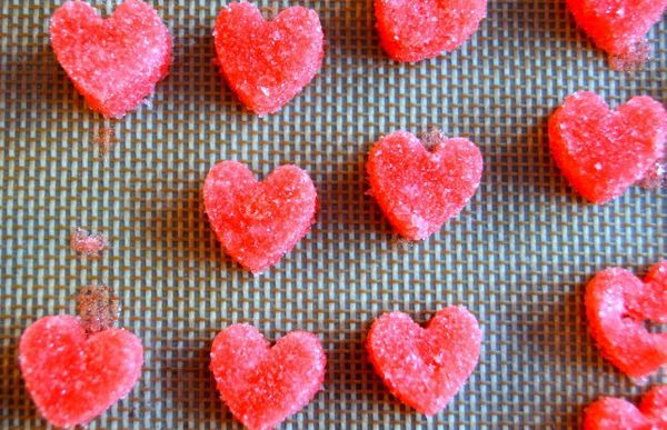 "<strong>Get the <a href=""http://thedomesticrebel.com/2014/02/01/sugar-hearts/"" target=""_blank"">Sugar Hearts recipe</a> by The"