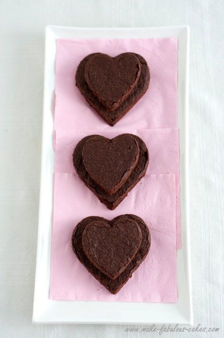 "<strong>Get the <a href=""http://www.make-fabulous-cakes.com/heart-brownies.html"">Heart Brownies recipe </a>by Make Fabulous C"